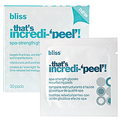 BeautyAddict.com Bliss Incredipeel